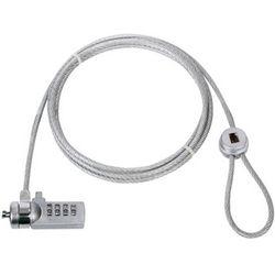 König CMP-SAFE4 1.8m Zilver kabelslot