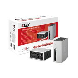 CLUB3D SenseVision USB 3.0 4K UHD Mini Docking Station