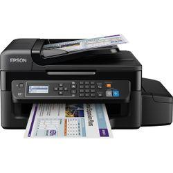 Multifunctionele inkjetprinter Epson EcoTank ET-4500 A4 Printen, Scannen, Kopiëren, Faxen LAN, WiFi,