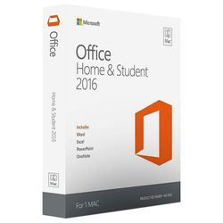 Microsoft Office Home & Student 2016 for Mac 1gebruiker(s)