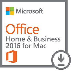 Microsoft Office Home & Business 2016 for Mac 1gebruiker(s)