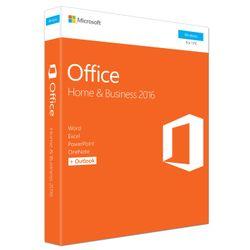Microsoft Office Home & Business 2016. Licentietype: Volledig. Taalversie: Meertalig, Softwaretype: Electronic Software Download