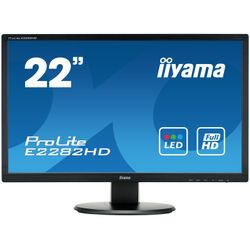 "iiyama ProLite E2282HD-B1 21.5"" Full HD TN Mat Zwart computer monitor LED display"