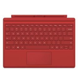 Microsoft Surface Pro 4 Keyboard Type Cover - red
