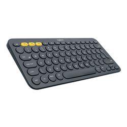 Logitech K380 Multi-Device toetsenbord Bluetooth AZERTY Frans Grijs