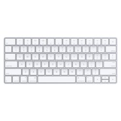 Apple MLA22LB/A toetsenbord Bluetooth QWERTY Amerikaans Engels Zilver, Wit