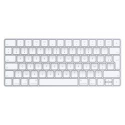 Apple MLA22 toetsenbord Bluetooth Frans Zilver, Wit