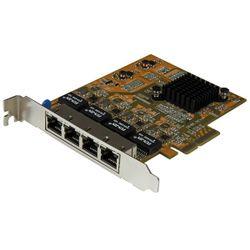 StarTech.com 4-Poort PCI Express gigabit netwerk adapter