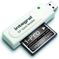 Integral INCRCF USB 2.0 Wit geheugenkaartlezer