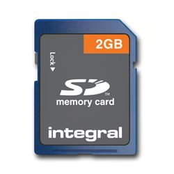 Integral 2GB SD Card 2GB SD flashgeheugen-INSD2GV2NDB