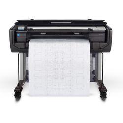 HP Designjet T830 36-in Kleur 2400 x 1200DPI Thermische inkjet 914 x 1897 mm Wi-Fi grootformaat-printer