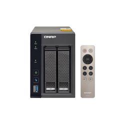 QNAP TS-253A NAS Toren Ethernet LAN Zwart
