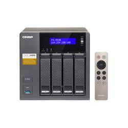 QNAP TS-453A NAS Toren Ethernet LAN Zwart