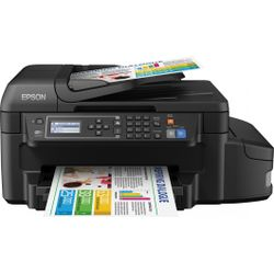 Multifunctionele inkjetprinter Epson EcoTank ET-4550 A4 Printen, Scannen, Kopiëren, Faxen LAN, WiFi,
