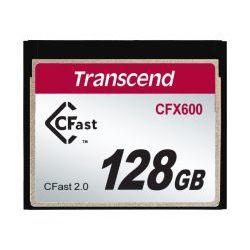 Transcend 128GB CFX600 CFast 2.0 flashgeheugen SATA MLC
