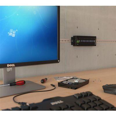 StarTech.com 10 poorts industriële USB 3.0 hub ESD en overspanningsbeveiliging