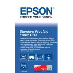 "Epson Standard Proofing Paper OBA 24"" x 30.5 m Rol Semi-mat"