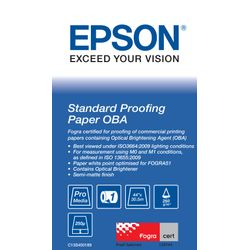 "Epson Standard Proofing Paper OBA 44"" x 30.5 m"