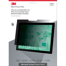 3M Privacy-filter voor Microsoft Surface Pro 3 / Pro 4 - liggend