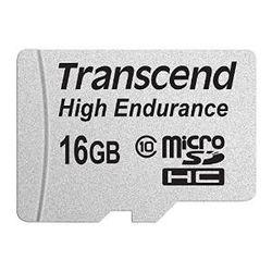 Transcend 16GB microSDHC flashgeheugen Klasse 10 MLC