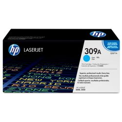 HP 309A originele cyaan LaserJet tonercartridge