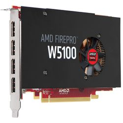 AMD FirePro W5100 4GB grafische kaart