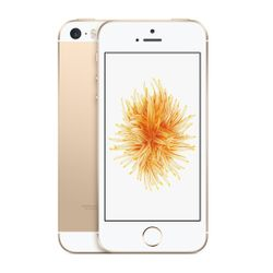 Apple iPhone SE Single SIM 4G 16GB Goud, Wit smartphone