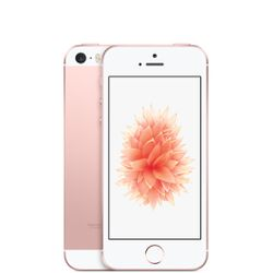 Apple iPhone SE Single SIM 4G 16GB Roze, Wit