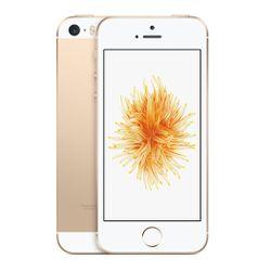 Apple iPhone SE Single SIM 4G 64GB Goud, Wit smartphone