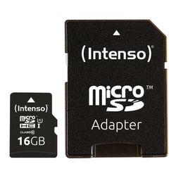 Intenso 16GB microSDHC 16GB MicroSDHC UHS Klasse 10