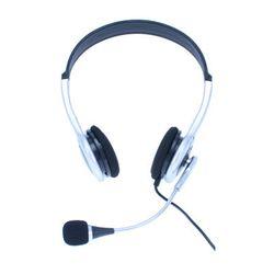 MediaRange MROS301 Stereofonisch Hoofdband Zwart, Grijs