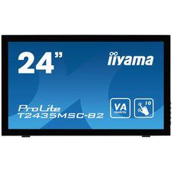 iiyama 24i LCD 1920 x 1080. VA panel. LED Bl. Speakers. DVI-D. HDMI. DisplayP (T2435MSC-B2)