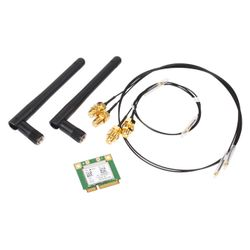 Shuttle WLAN-kit Mini-PCIe-802.11ac+BT for several XPC cube and slim barebon (POZ-WLNP01)