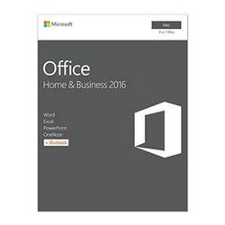 Microsoft Office Home & Business 2016 f/ Mac 1 licentie(s) Frans