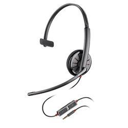 Plantronics Blackwire 215 Headset Hoofdband Zwart