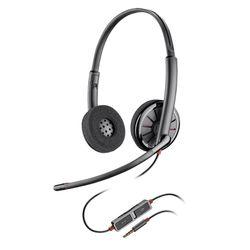Plantronics Blackwire 225 mobiele hoofdtelefoon Stereofonisch Hoofdband Zwart Bedraad