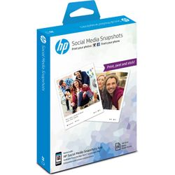 HP W2G60A pak fotopapier Wit Semi-gloss