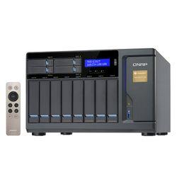 QNAP TVS-1282T NAS Toren Ethernet LAN Zwart
