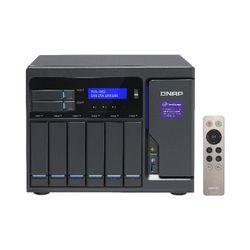 QNAP TVS-882 NAS Toren Ethernet LAN Grijs