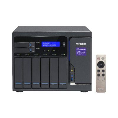 QNAP TVS-882 Ethernet LAN Toren Grijs NAS