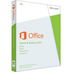 Microsoft Office Home and Student 2013 English 32-bit/x64 1 License (includes Word, Excel, PowerPoin-79G03549