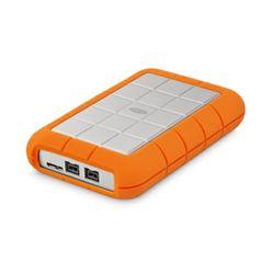 LaCie Rugged Triple 1000GB Oranje, Wit externeharde schijf
