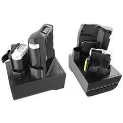 Zebra CRD-NWTRS-2SUCH-01 Indoor battery charger Zwart