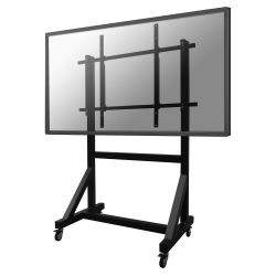 Newstar PLASMA-M3000E flat panel vloer standaard Portable flat panel floor stand Zwart 2,54 m (100