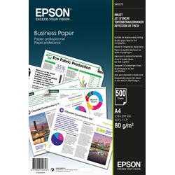 Epson Business Paper 80gsm 500 shts A4 (210×297 mm) Wit