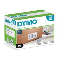 DYMO S0947420 Wit Zelfklevend printerlabel printeretiket