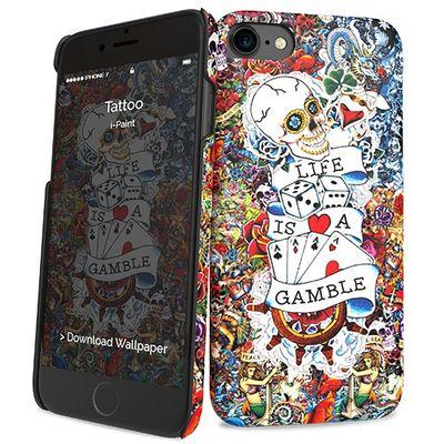 "i-Paint Tattoo mobiele telefoon behuizingen 11,9 cm (4.7"")"