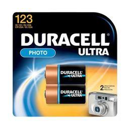Duracell 2x CR17345 123 Lithium 3V niet-oplaadbare batterij