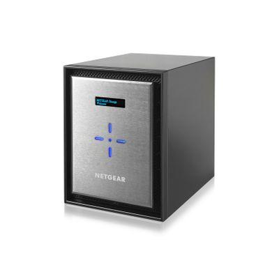 Netgear ReadyNAS 526X Ethernet LAN Mini Toren Zwart, Zilver