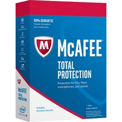 McAfee Total Protection 2017 Full license 10gebruiker(s)